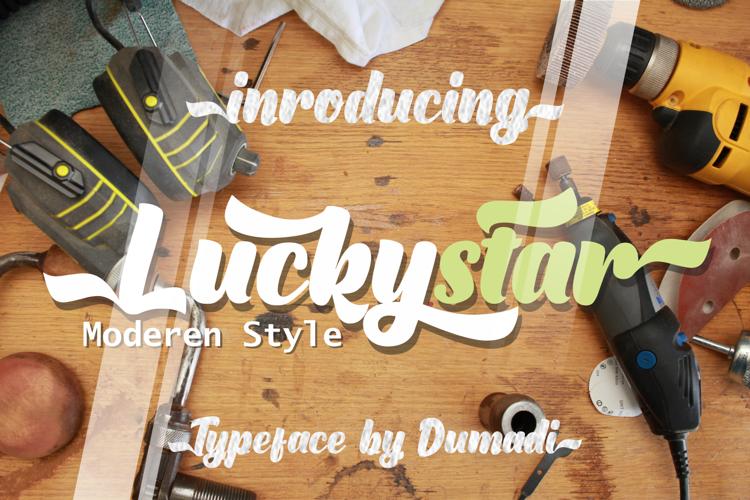 Luckystar Font