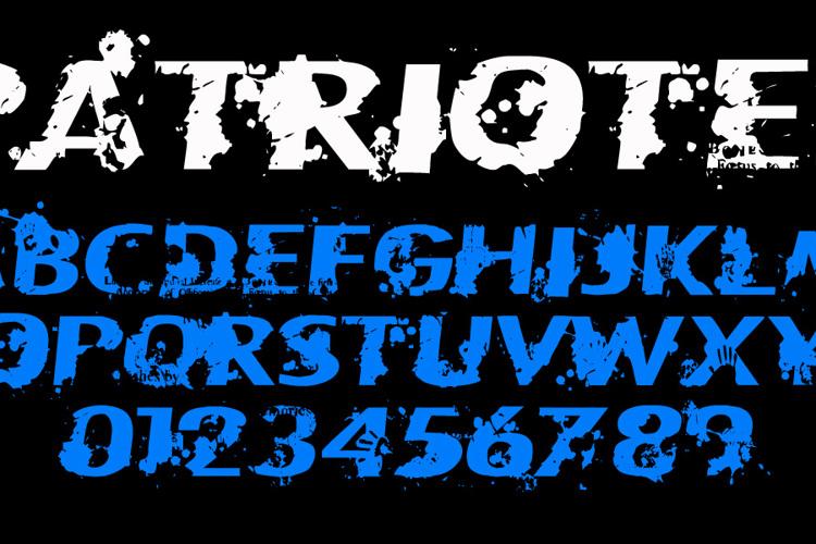Patriote1837 Regular Font