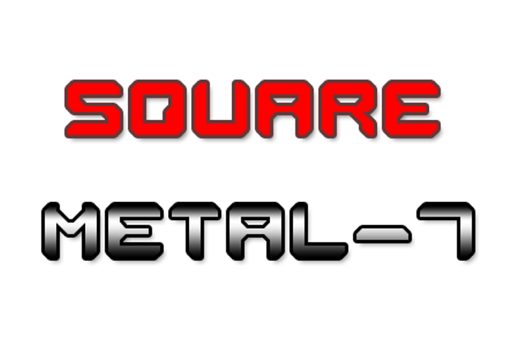 Square Metal-7 Font