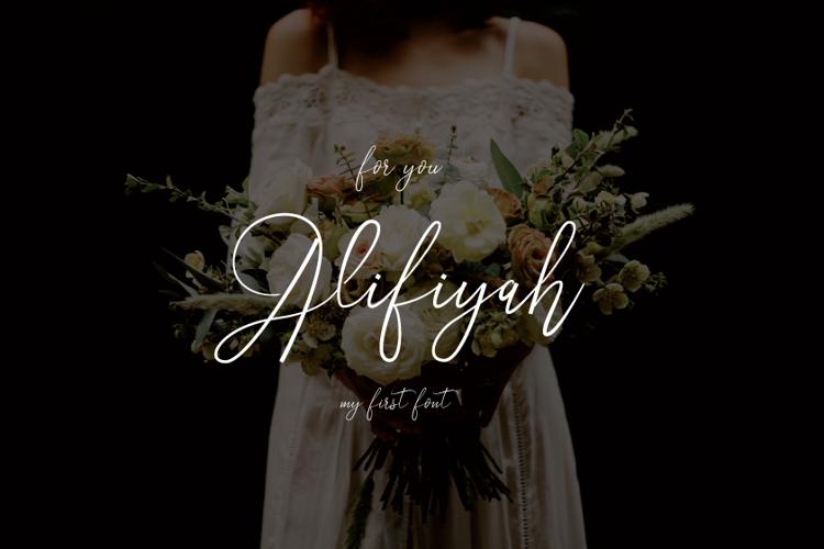 Alifiyah Font