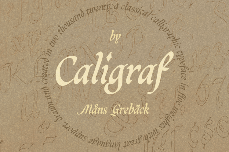 Caligraf Font