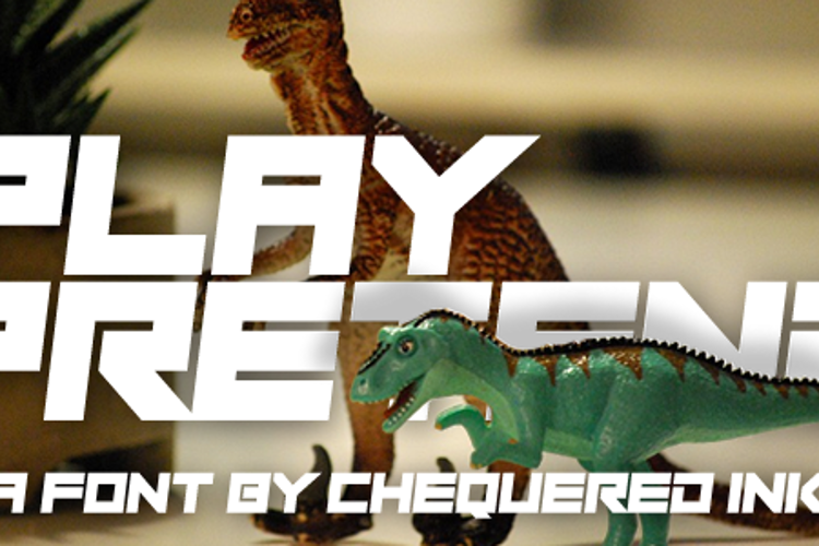 Play Pretend Font