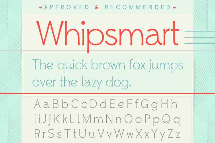 Whipsmart Font