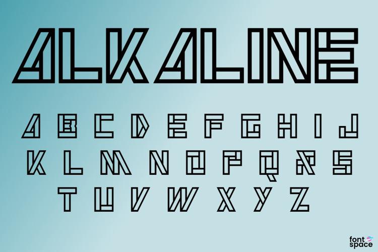 Alkaline Font