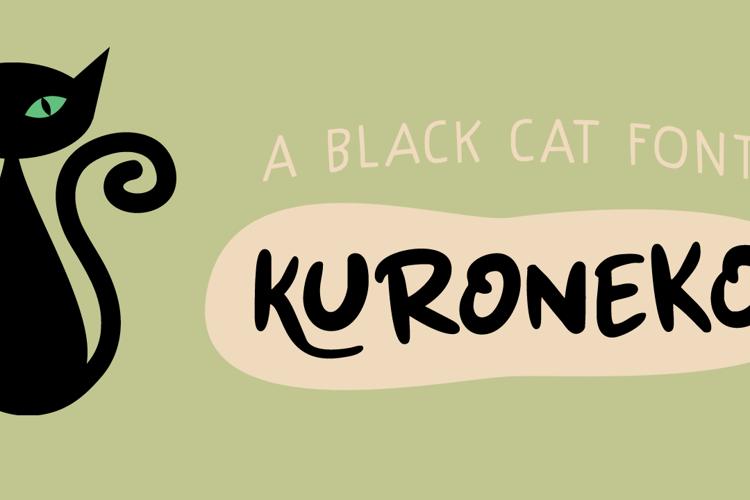 Kuroneko (DEMO) Font