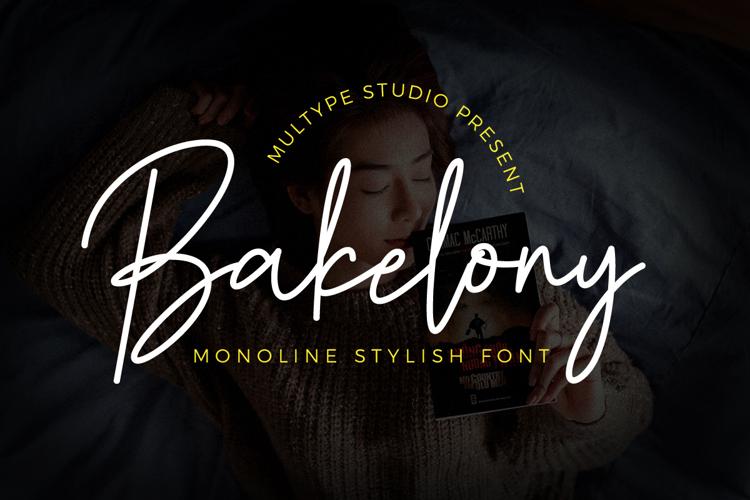 Bakelony Font