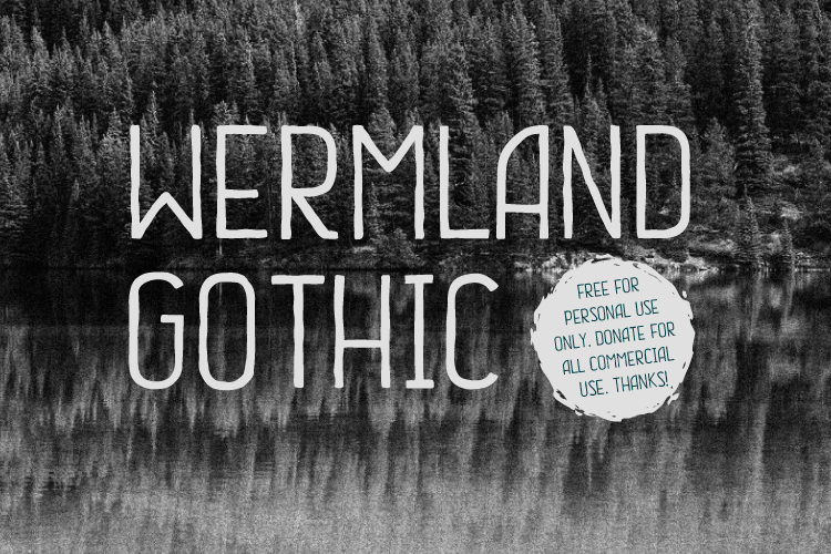 Wermland Gothic Font