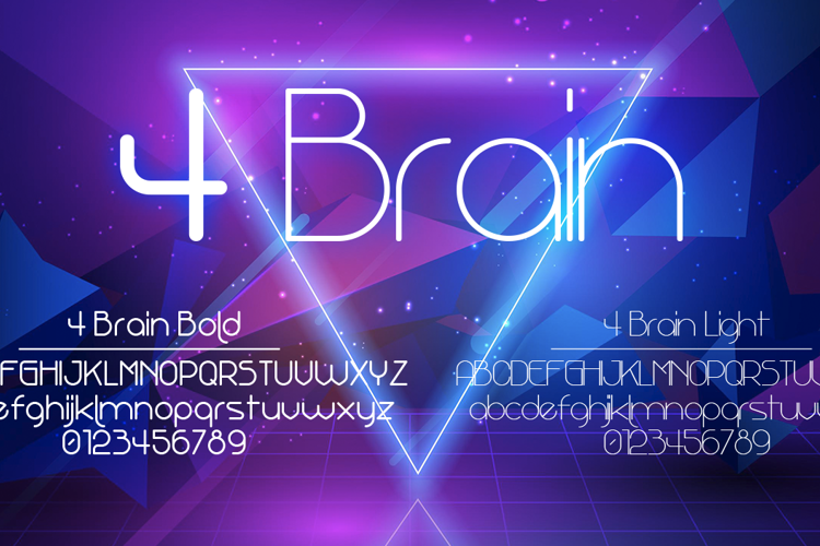 4 Brain Font