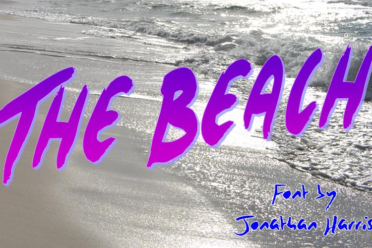 The Beach Font