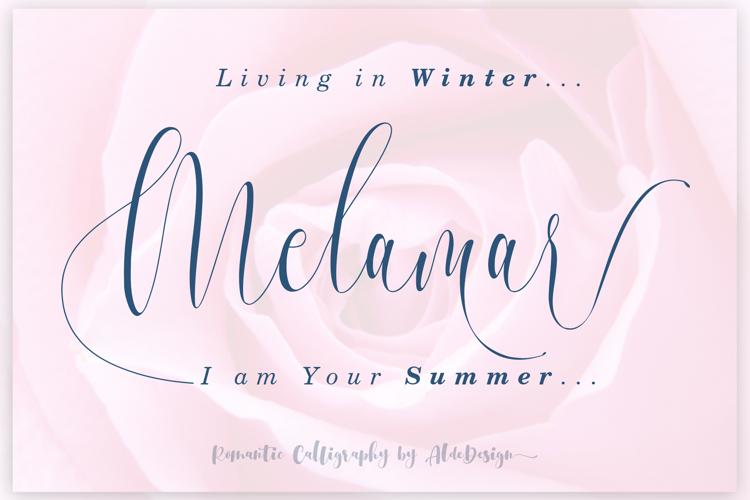 Melamar Font