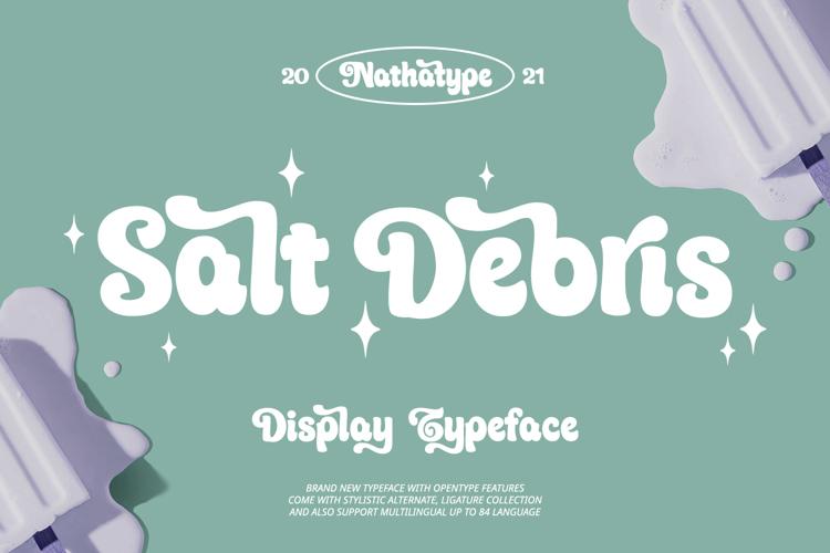 Salt Debris Font