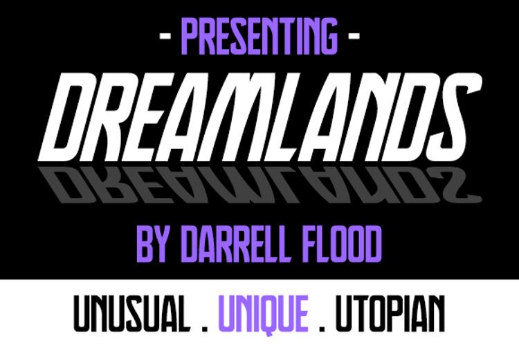 Dreamlands Font