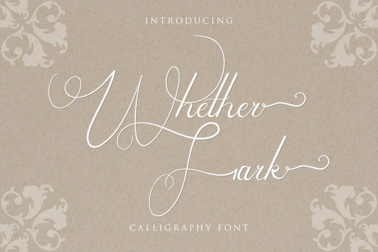 Whether Fark Font