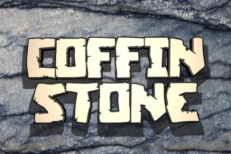 Coffin Stone Font