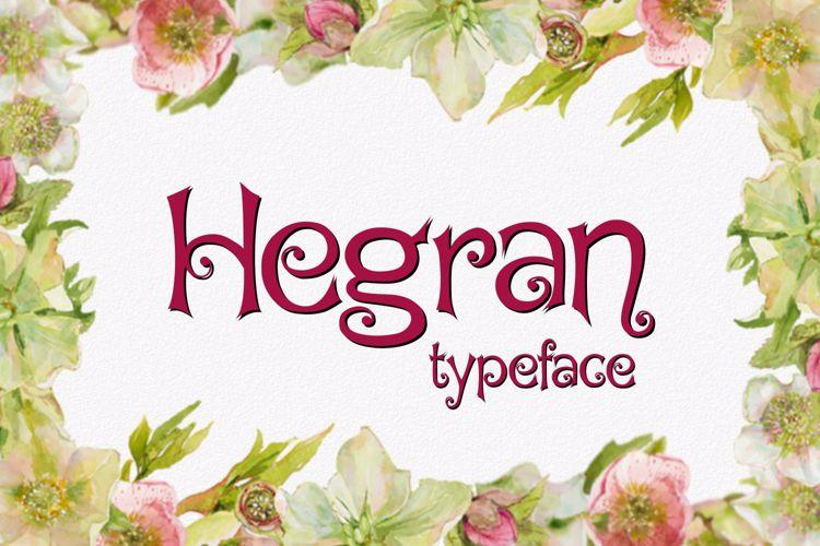 Hegran Font