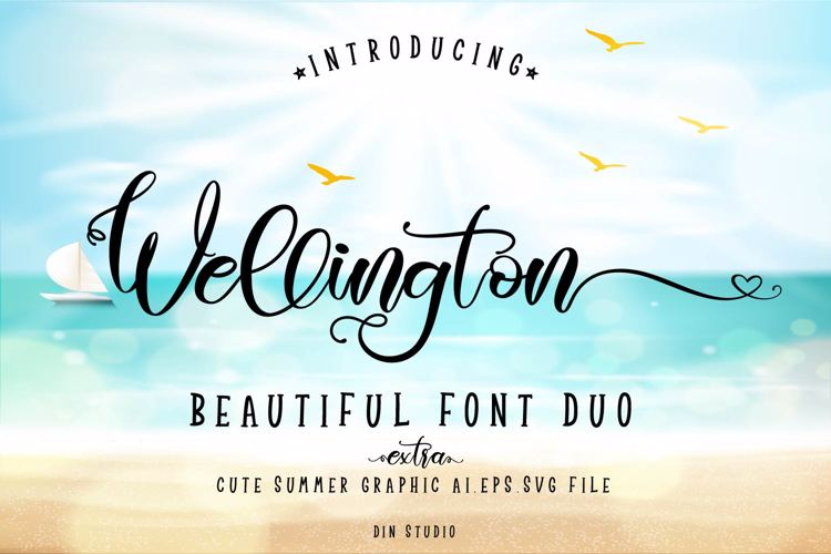 Wellington Regular Font
