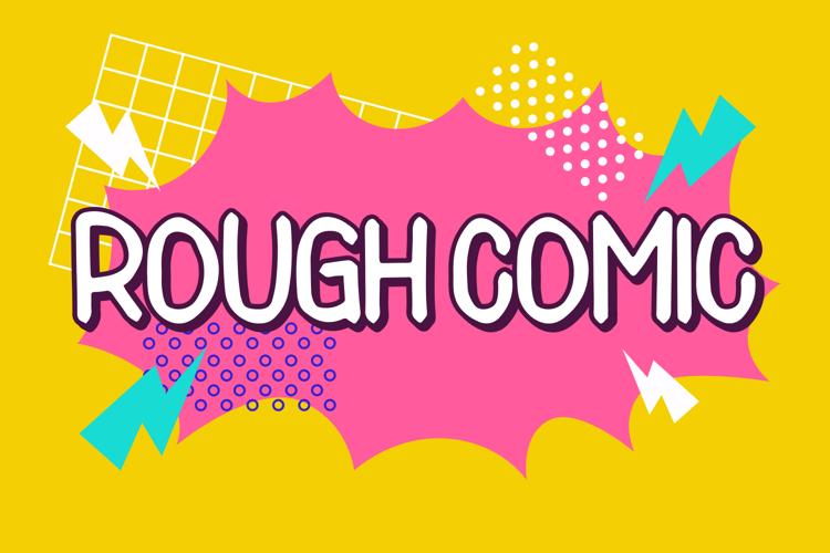 Rough Comic Font