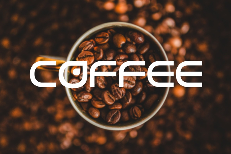 cup of coffee Font