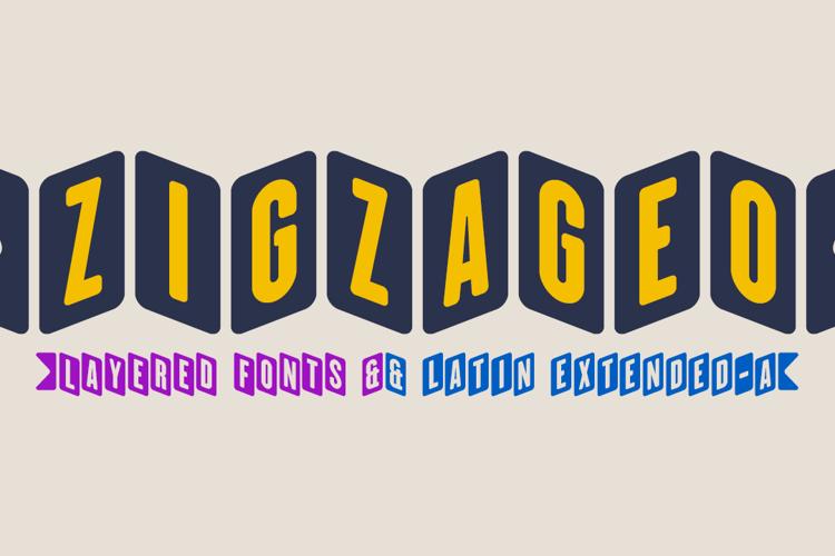 ZiGzAgEo Font