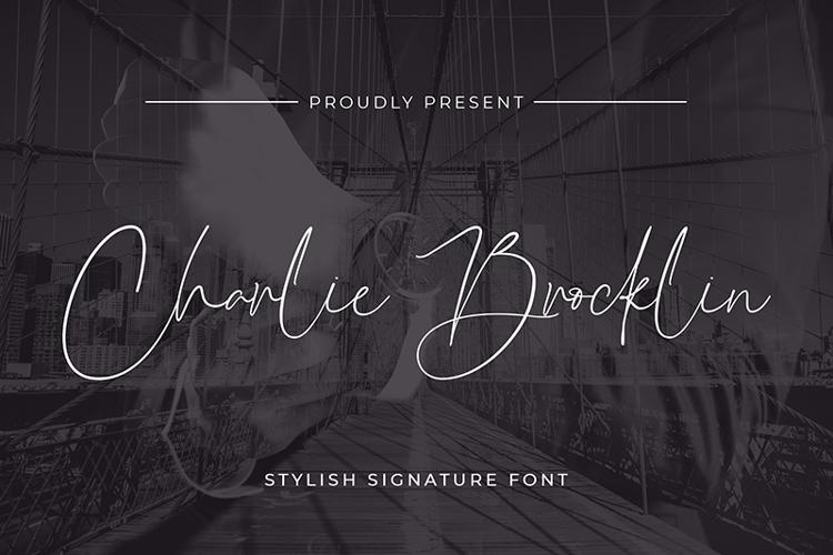 Charlie Brocklin Font
