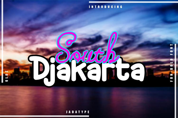 South Djakarta Font
