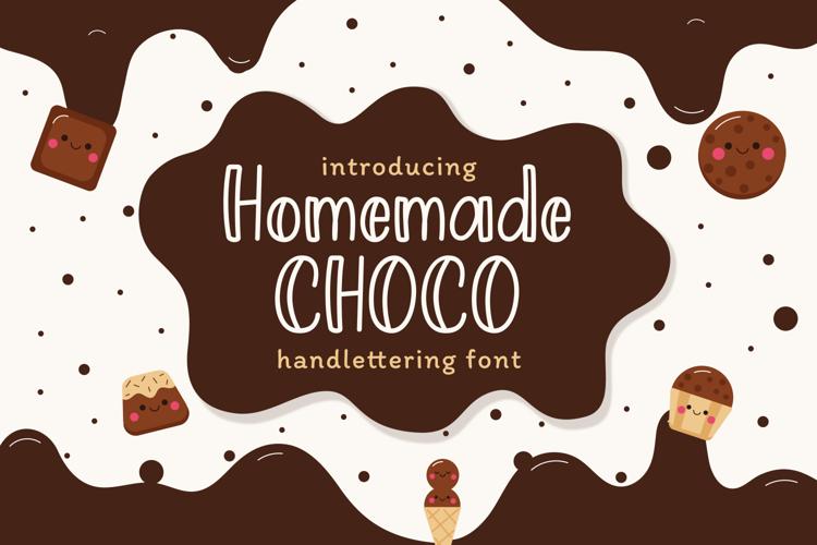 Homemade Choco Font