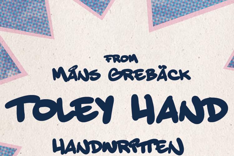 Toley Hand Font