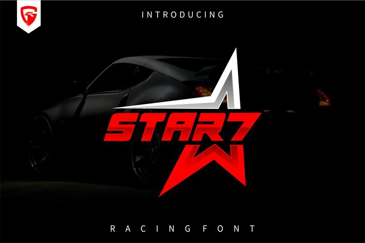 STAR 7 Font