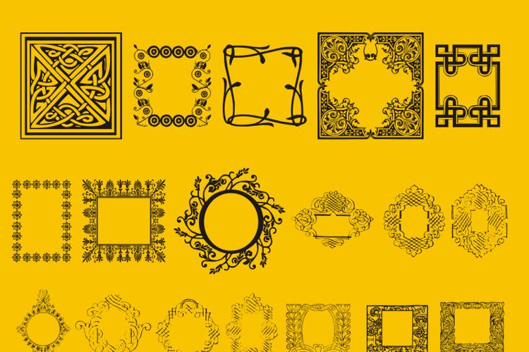 Caixinhas Decorativas Font