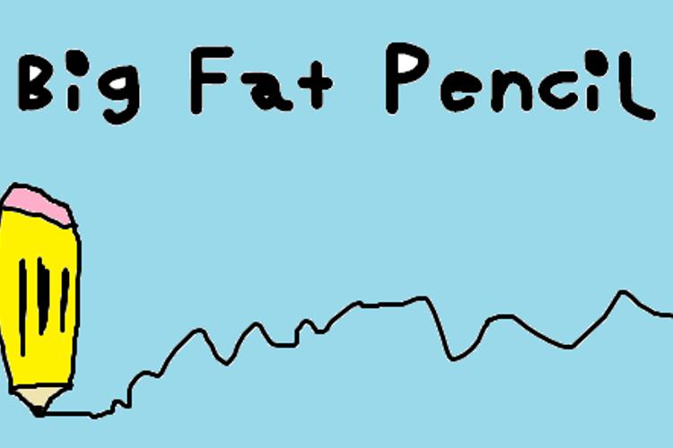 Big Fat Pencil Font