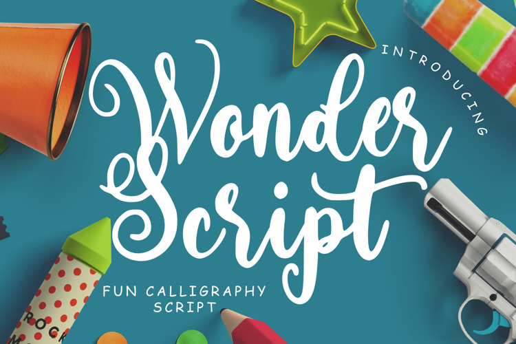 Wonder Script Font
