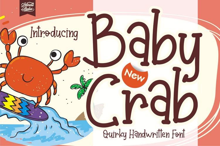 Baby Crab Font