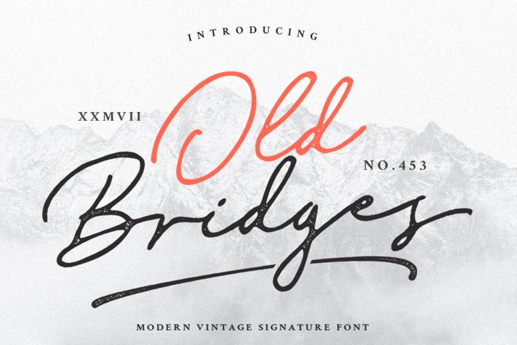 Old Bridges Font