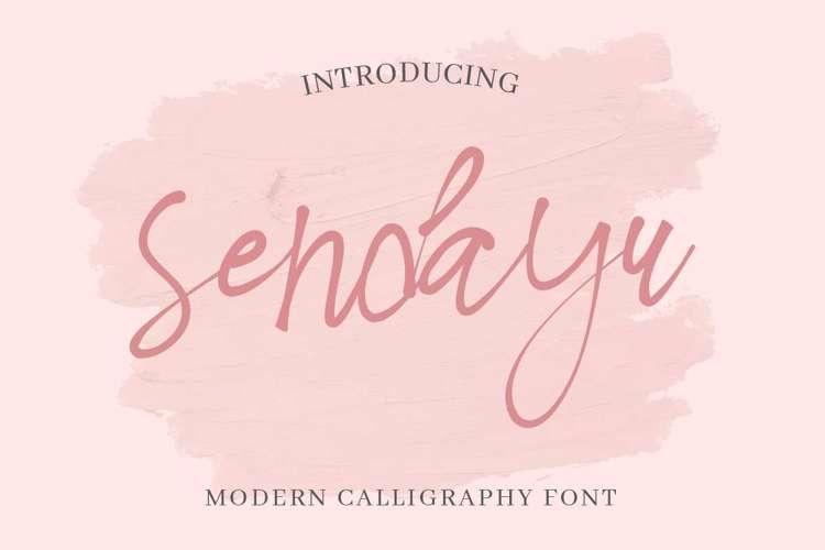 Sendayu Font