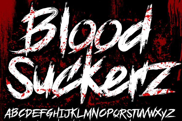 BLOODSEEKER Font
