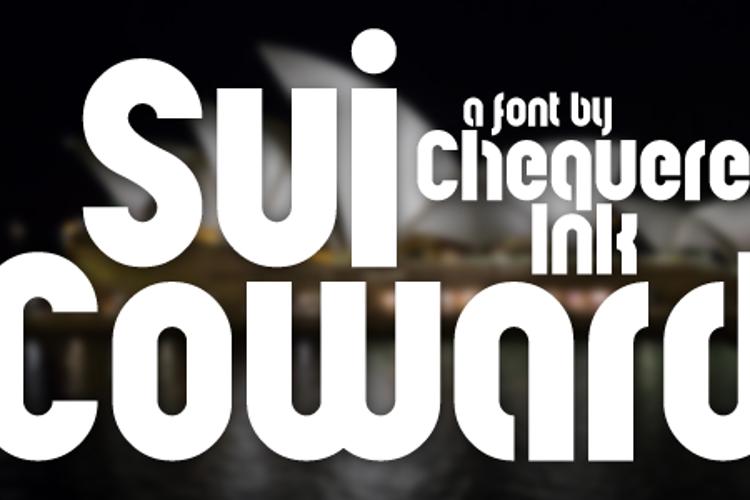 Sui Coward Font