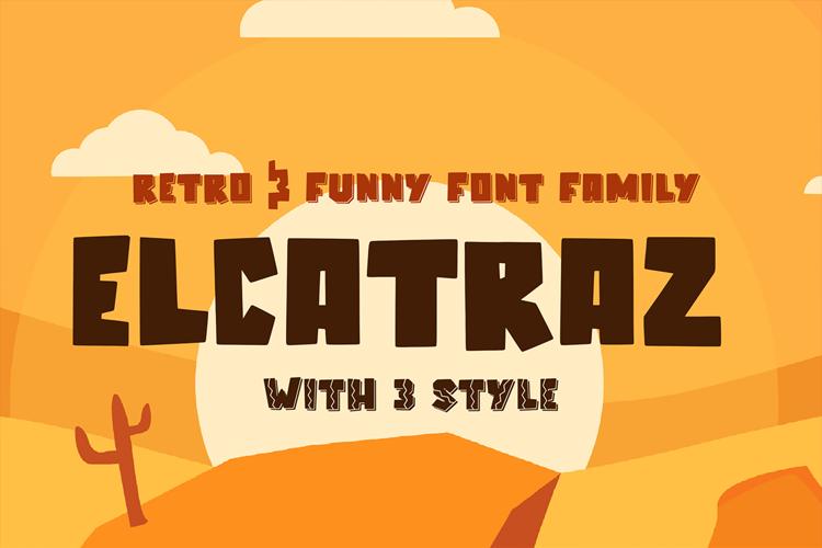 Elcatraz Font