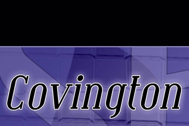SF Covington Font