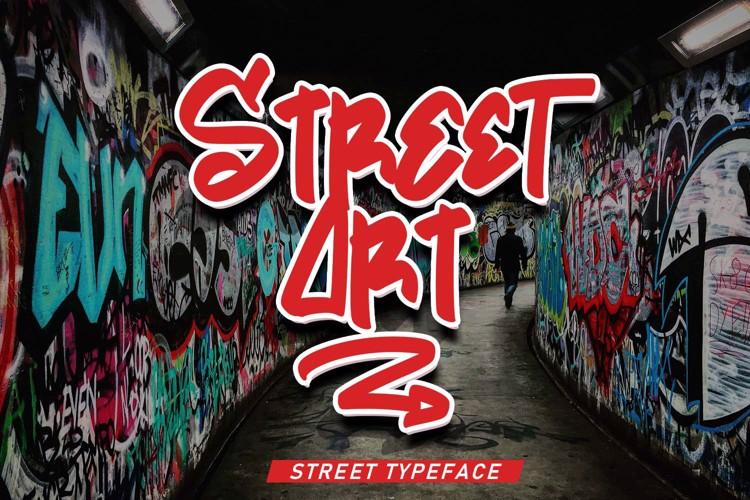 Street Art Font
