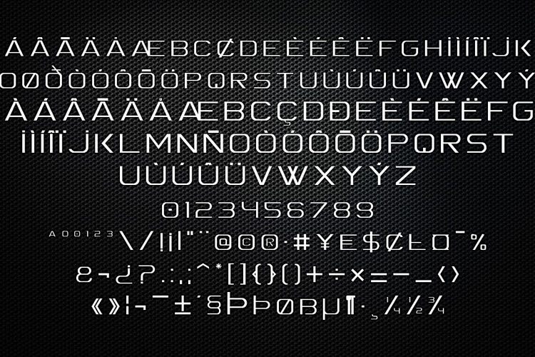 Spac3  Font