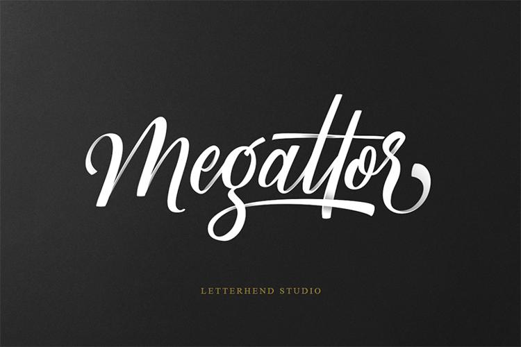 Megattor DEMO Font