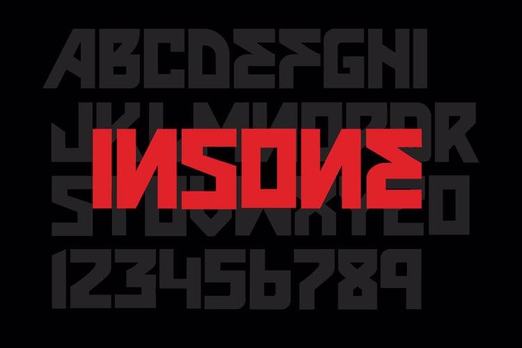VTKS INSONE Font