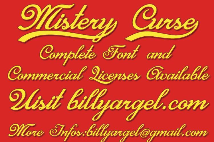 Mistery Curse Font