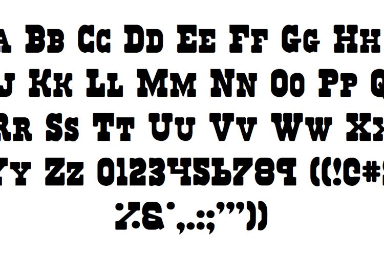 Regulators Font