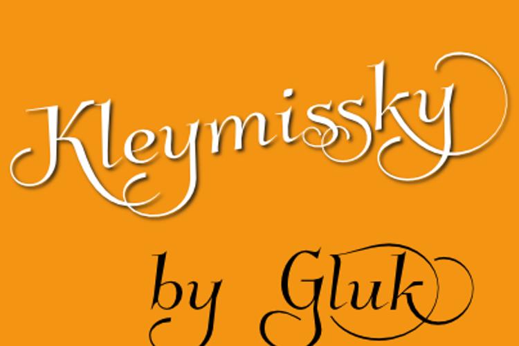 Kleymissky Font