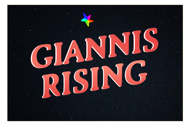Giannis Rising Font