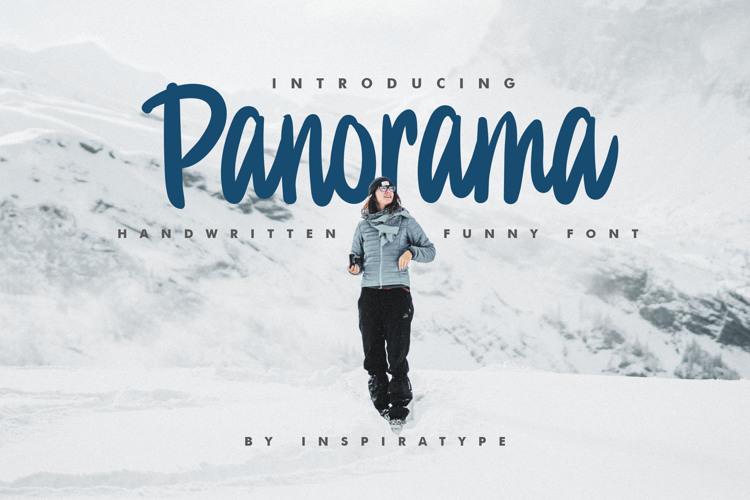 Panorama Font