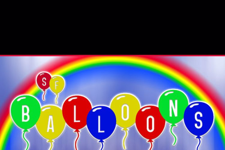 SF Balloons Font