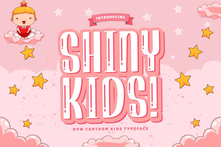 Shiny Kids Font
