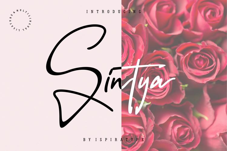 Sintya Font